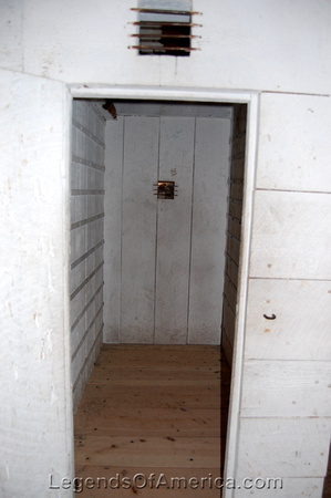 Fort Laramie, WY - Guardhouse Solitary Confinement