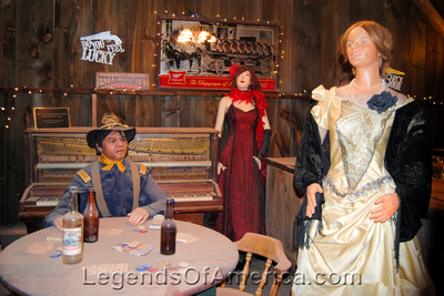 Apache Junction, AZ - Superstition Mountain Museum Saloon Exhibit