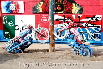 Seligman, AZ - Motorcycles