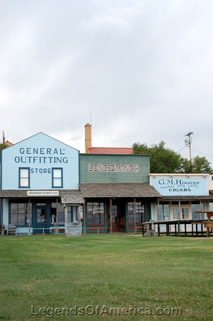 Dodge City, KS - Boot Hill Long Branch Saloon