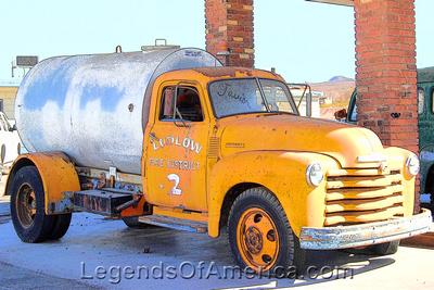 Ludlow, CA - Fire Truck