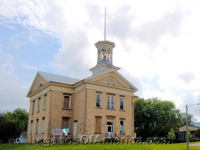 Lansing, IA - 1862 Stone School