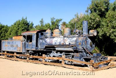 Furnace Creek, CA - Furnace Creek Ranch Borax Museum Railroad