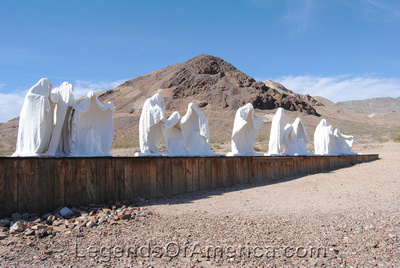 Rhyolite, NV - Goldwell Museum - Last Supper