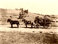 Stage coach,  1913