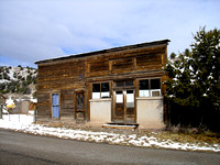 Chloride, NM - False Front Building