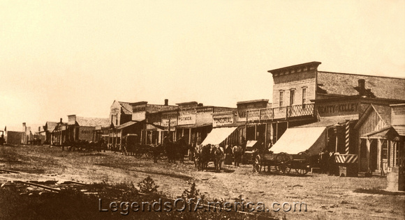 Dodge City, KS - 1876