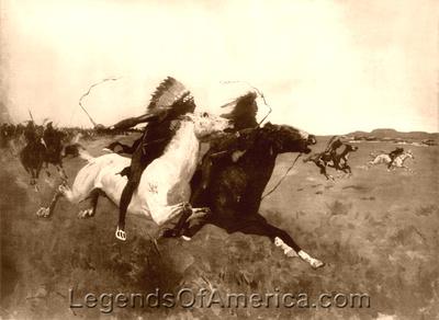 Legends Of America Photo Prints Indian Wars