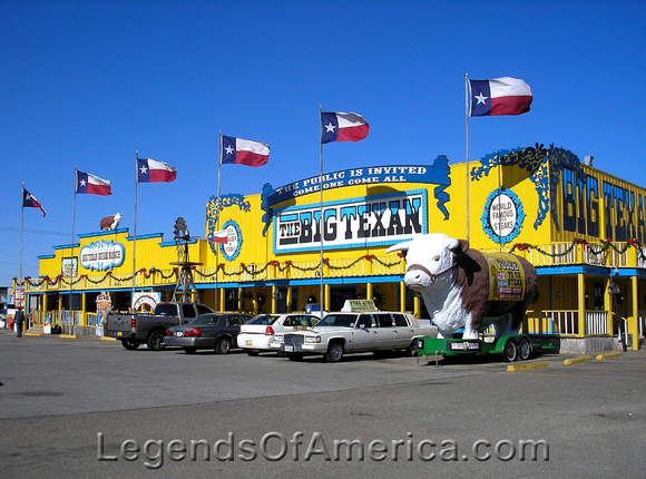 Amarillo, TX - Big Texan