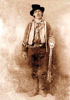 Billy The Kid, outlaw & gunfighter