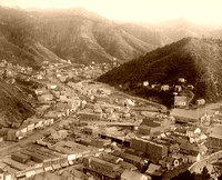 Deadwood, SD - From Mt. Moriah, 1888