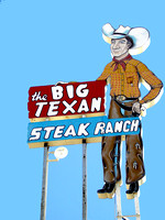 Amarillo, TX - Big Texan Sign