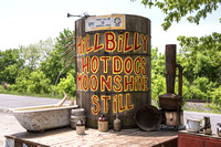 Cabell County, WV - Hillbilly Hot Dogs Moonshine Still