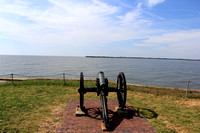 Fort Sumter, SC - cannon - 2