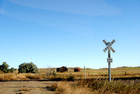Griffin, ND - Railroad Crossing