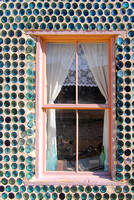 Rhyolite, NV - Bottle House Window