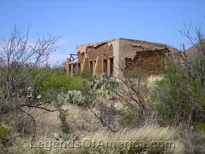 Gleeson, AZ - Ruins