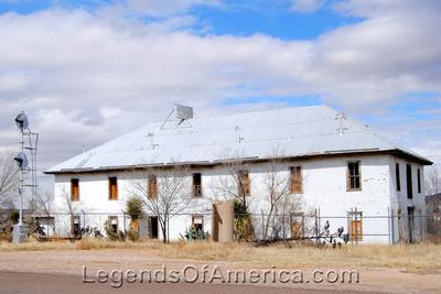 Sierra Blanca, TX - Railroad Hotel