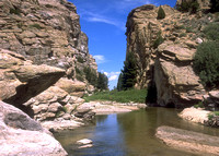 Devils Gate and Sweetwater River, WY