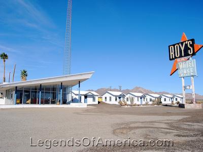 Amboy, CA - Roy's Motel