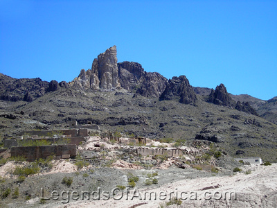 Oatman, AZ - Mining Remains