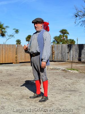 St. Augustine, FL - Colonial Quarter Gude