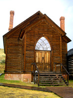 Bannack, MT - Methodist Church Today