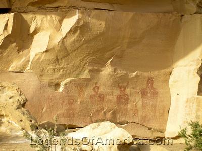 Sego Canyon, UT - Petroglyphs - 2