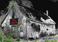 Scenic 7 Byway, AR - Old Corner Store - Art