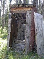 Bonanza, ID - Outhouse - Enhanced