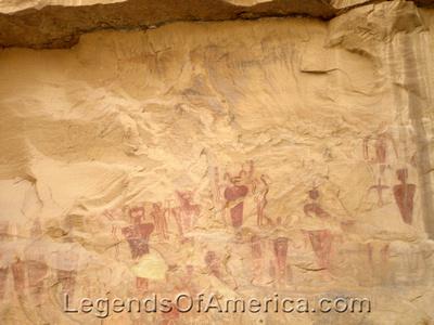 Sego Canyon, UT - Petroglyphs - 3