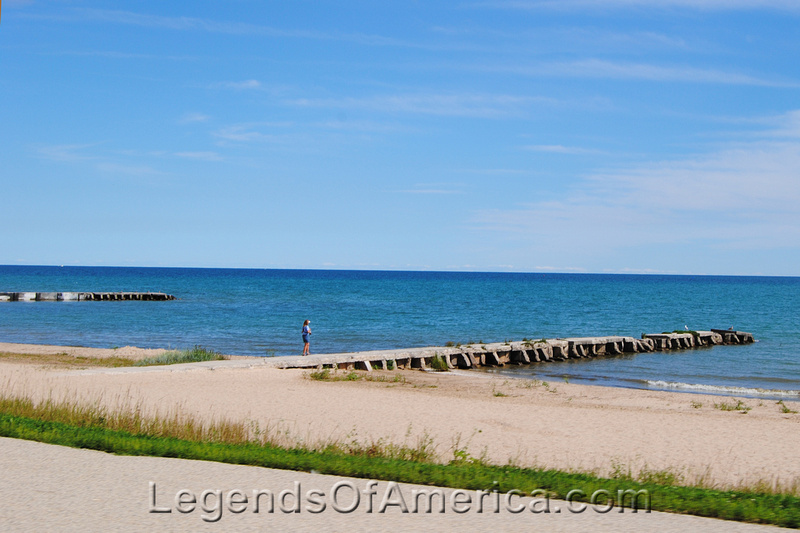 Sheboygan, WI - Harbor Centre Beach Pier