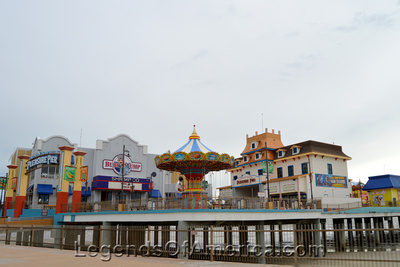 Galveston, TX - Pleasure Pier - 3