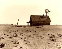 Dust Bowl Farm Near Dalhart, TX 1938