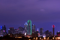 Dallas. TX - Skyline Night