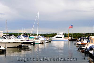 Fish Creek, WI - Harbor-Flag