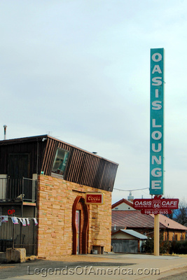 Ash Fork, AZ - Oasis Lounge