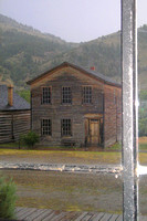 Bannack, MT - Building Through Window