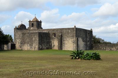 Goliad, TX - Presidio La Bahia Loreto Chapel