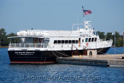 Copper Harbor, MI - Ship