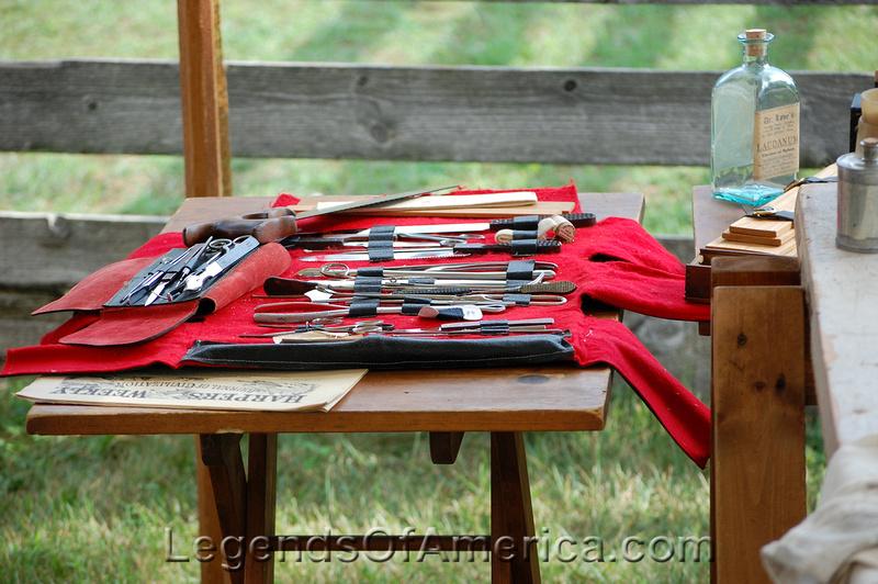 Old World Wisconsin - Civil War Surgeon Table