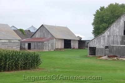 Iowa Farm - Sweet Corn, Sweet Barns