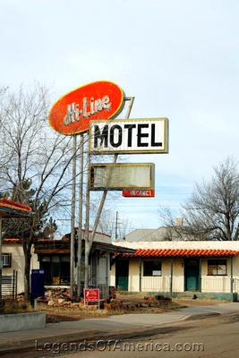 Ash Fork, AZ - Hi Line Motel