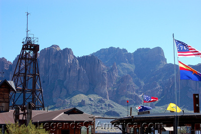 Goldfield, AZ - Superstition Mountain