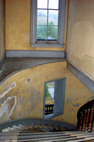 Bannack, MT - Courthouse-Hotel Meade Staircase - 2