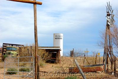 Hackberry, AZ - Water Tower