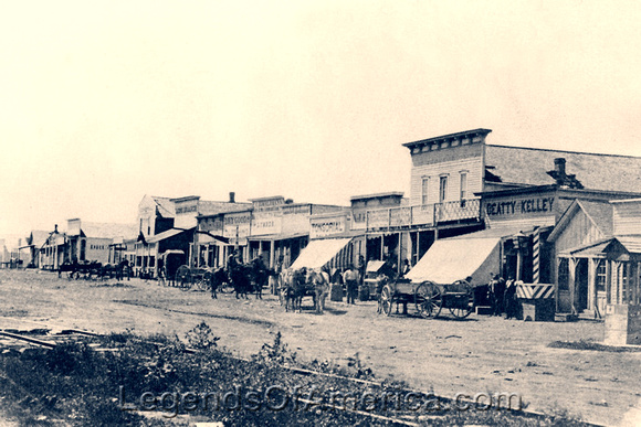 Dodge City, KS - About 1875
