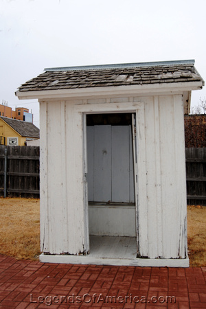 Dodge City, KS - Boothill Outhouse