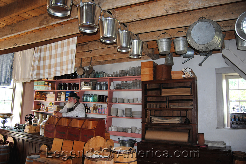 Old World Wisconsin - Thomas General Store-inside-2