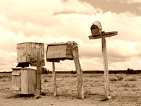 Mailboxes in Catron County, New MexicoRussell Lee1940